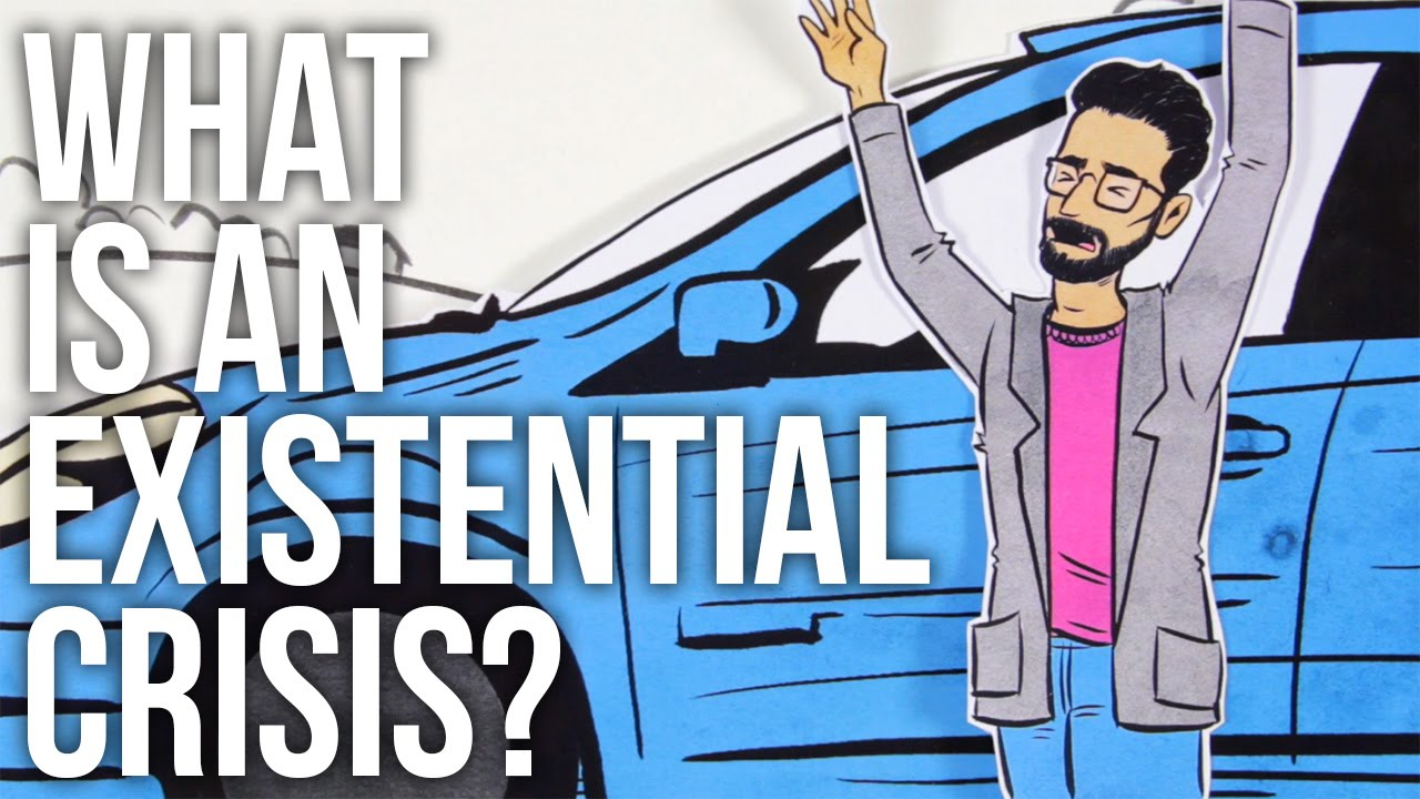 """What Is an """"Existential Crisis""""?: An Animated Video Explains What the Expression Really Means"""