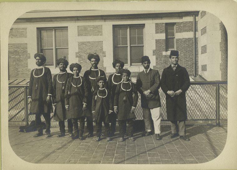Group Portrait Ellis Island