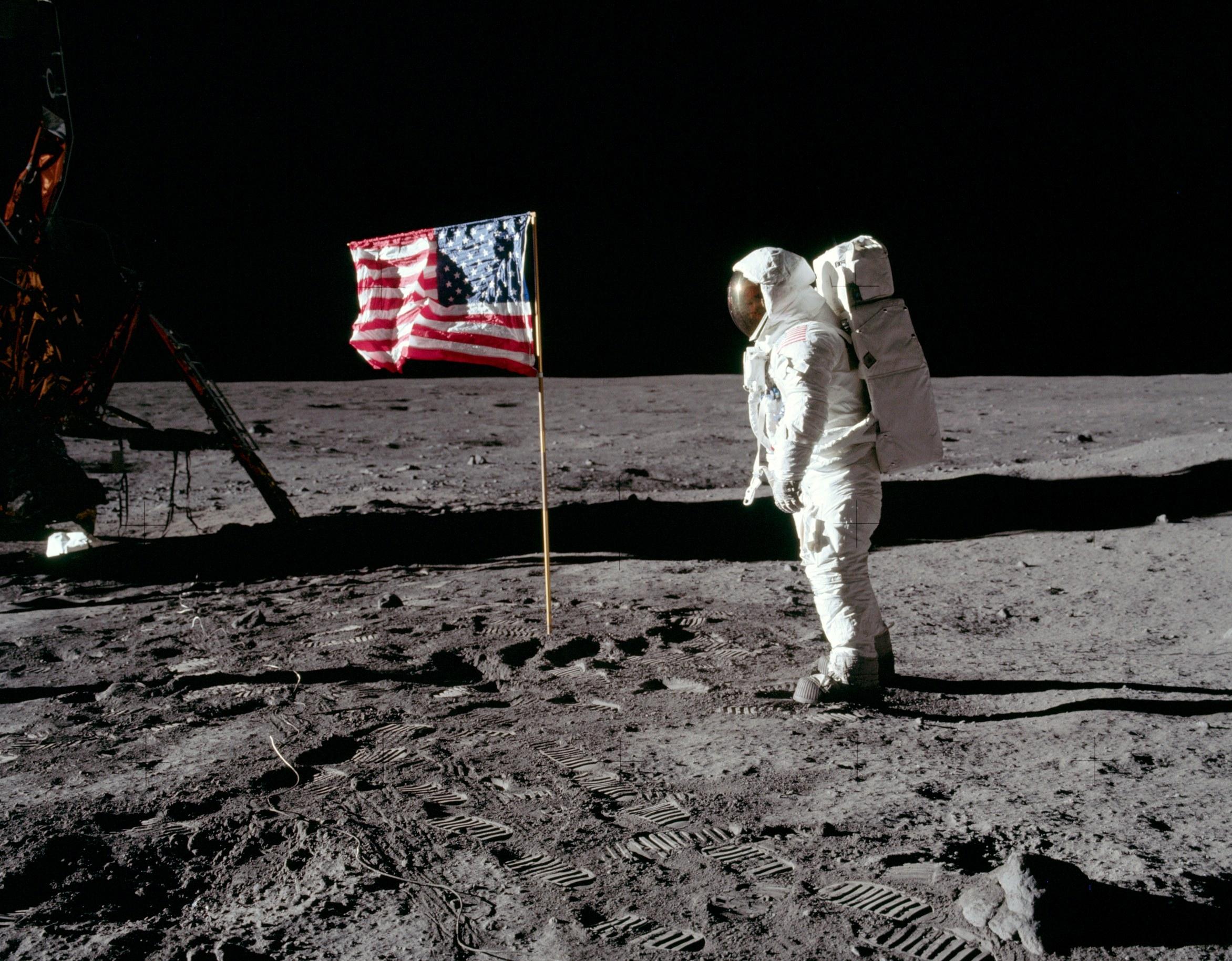 Kubrick Moon Landing