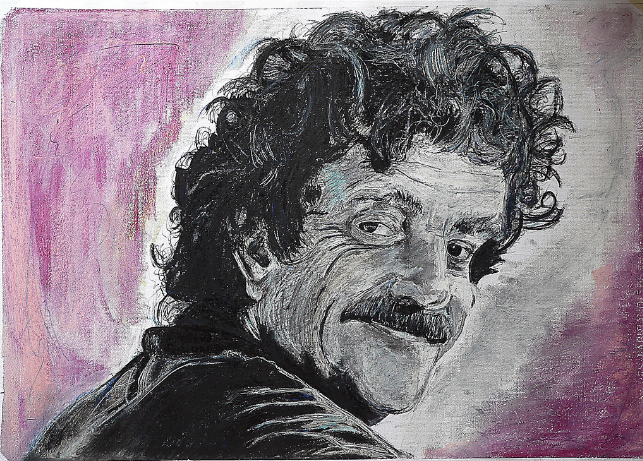 vonnegut drawing