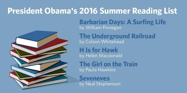 The 5 Books on President Obama's 2016 Summer Reading List