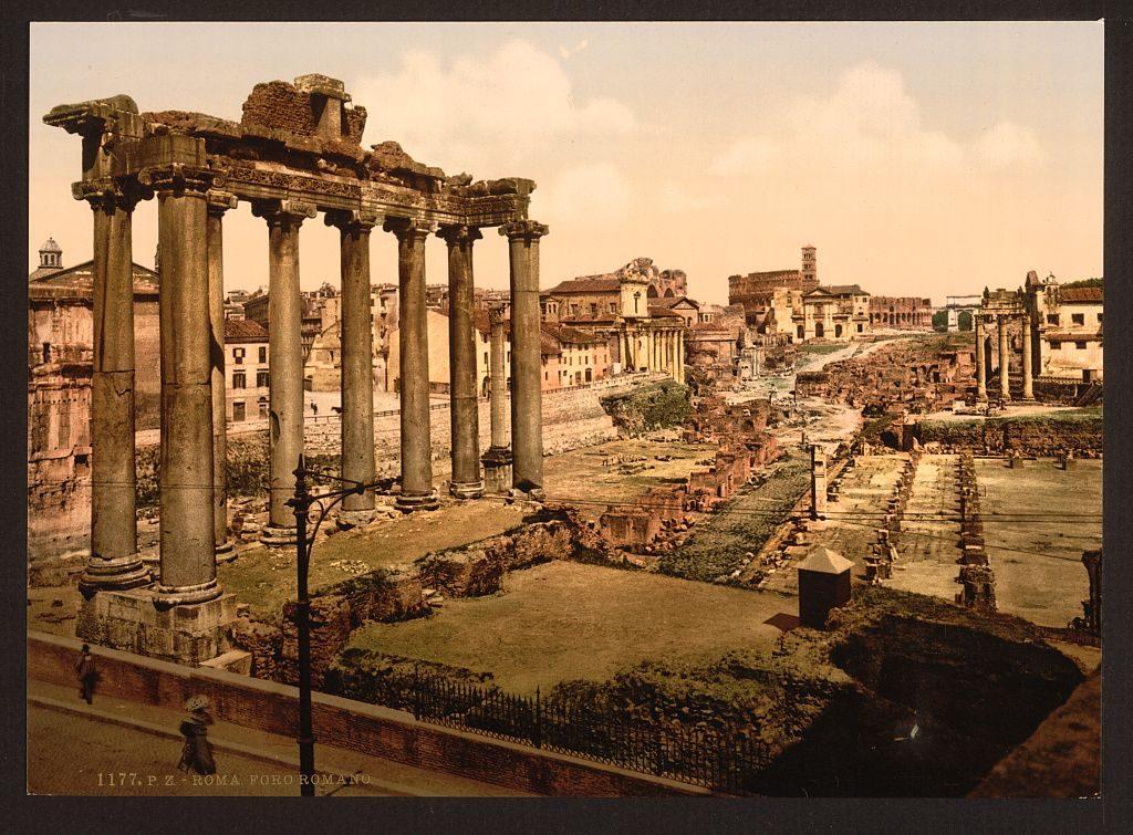 forum rome 1890