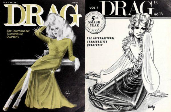 Have advised transvestite comic books are not