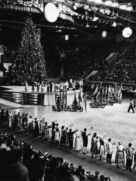 Christmas Tree in Luzhniki Stadium