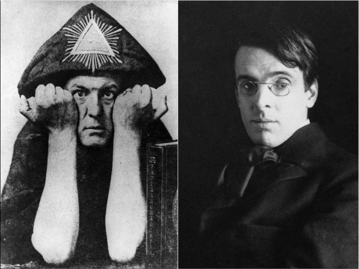 Aleister Crowley William Butler Yeats Get Into An Occult Battle Pitting White Magic Against Black 1900