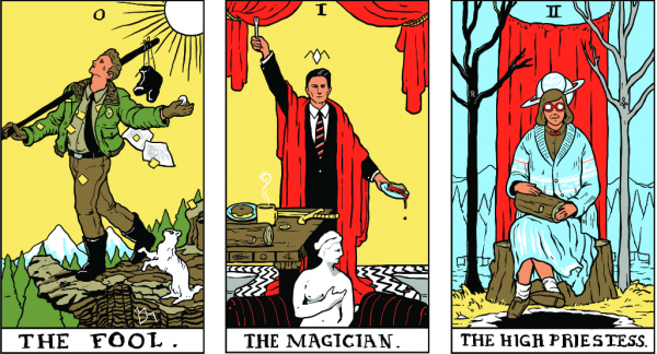 Twin Peaks Tarot Cards Now Available as 78-Card Deck | Open Culture