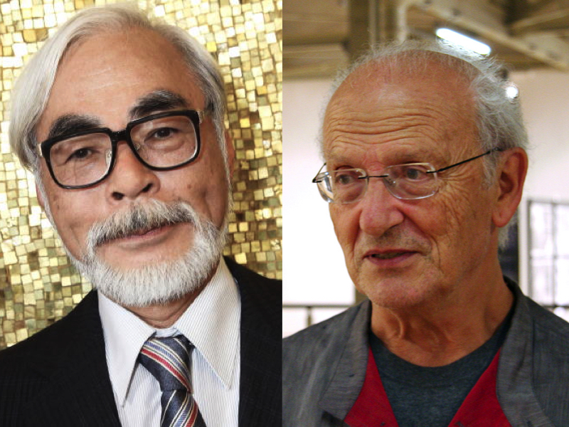 Watch Moebius and Miyazaki, Two of the Most Imaginative Artists, in Conversation (2004)