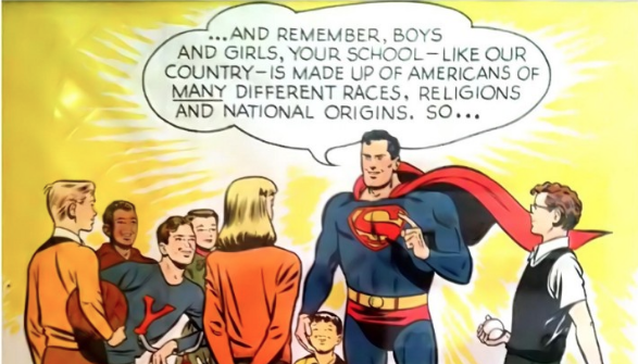 1950 Superman Poster Urged Kids to Defend All Americans, Regardless of Their Race, Religion or National Origin