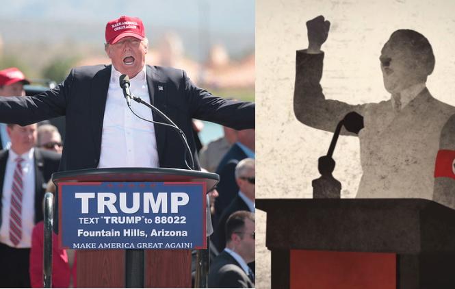 High School Teacher & Holocaust Expert Suspended for Drawing Parallels Between Trump & Hitler's Rhetoric