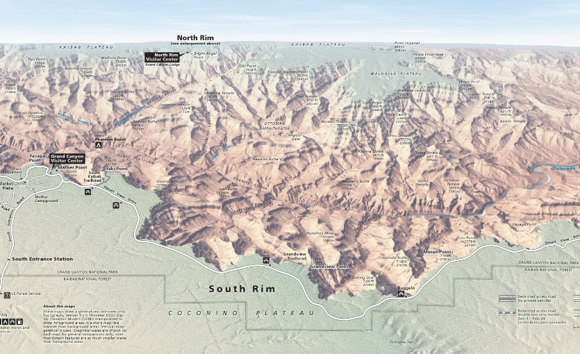 Browse & Download 1,198 Free High Resolution Maps of U.S. National Parks