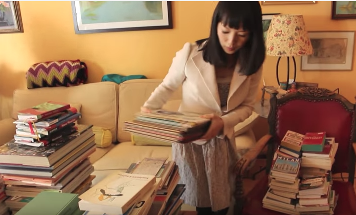 "Organization Guru Marie Kondo's Tips for Dealing with Your Massive Piles of Unread Books (or What They Call in Japan ""Tsundoku"")"