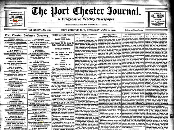port-chester-journal