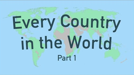 Quot Every Country In The World Quot Two Videos Tell You Curious Facts About 190 Countries Open Culture