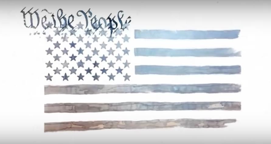 "Watch Neil Gaiman & Amanda Palmer's Haunting, Animated Take on Leonard Cohen's ""Democracy"""