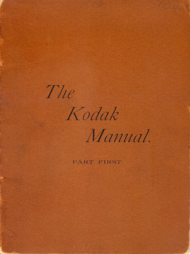 first-kodak-manual