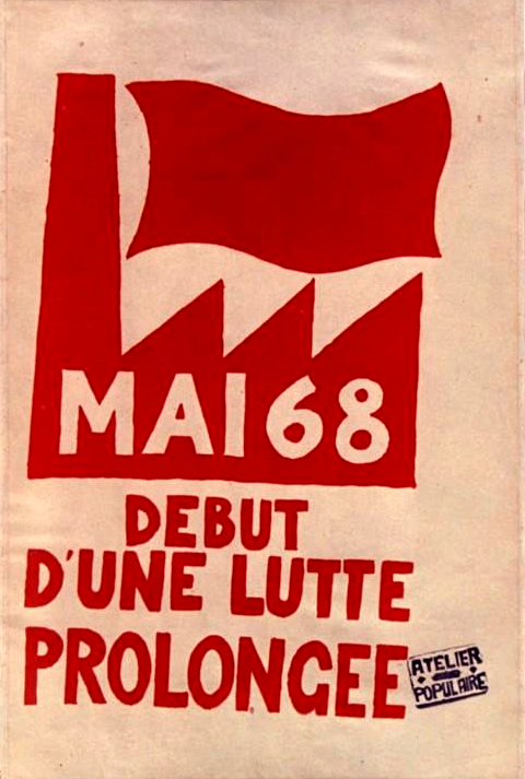 Image result for media france may 68
