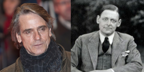 Hear Jeremy Irons Read the Poetry of T.S. Eliot (Available for a Limited Time)