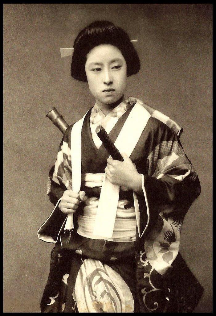 Female Samurai Warrior...